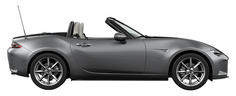 Mazda MX-5 Luxury Wit leer